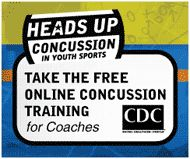 CDC has created two free online courses – one for health care professionals and another for youth and high school sports coaches, parents, athletes – that provide important information on preventing, recognizing, and responding to a concussion.
