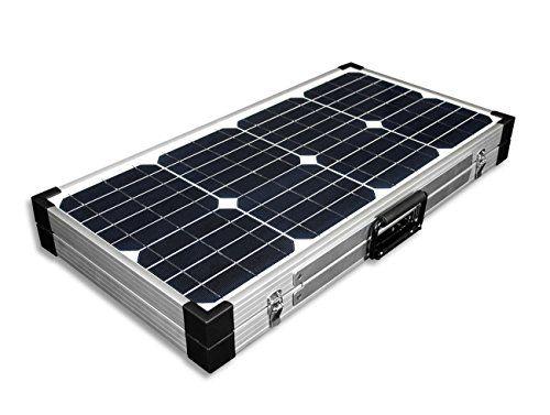 cool 60W Solarkoffer Monokristallin – 12V – NEU – Solarmodul – Solarpanel – Solar – Mono – Camping – solarXXL