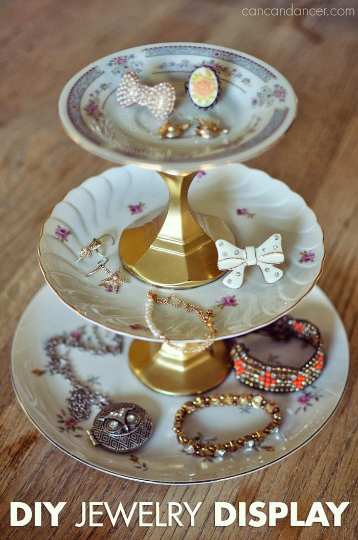 Hello World,     Have you seen those darling jewelry stands made with vintage plates at consignment shops or craft fairs, but not wanted to...