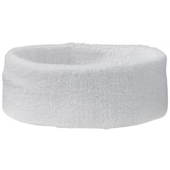 Wit hoofd zweetbandje sport  Hoofdband zweetbandje in de kleur wit. De zweetbandjes zijn ongeveer 6 cm hoog en hebben een omvang van ca. 58 cm. De hoofdbandjes kunt u gebruiken voor een sportdag of evenement. Materiaal: 80% katoen 20% elastaan. Verkoop is per stuk.  EUR 2.60  Meer informatie