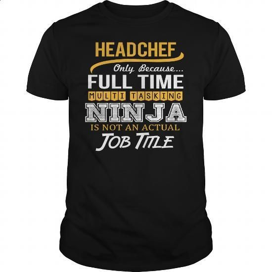 Awesome Tee For Head Chef - #t shirt ideas #fitted shirts. MORE INFO =>…