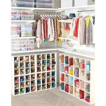 6-Section Shoe & Handbag Organizer | The Container Store