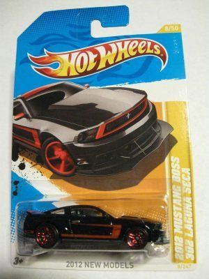 2012 Hot Wheels New Models 2012 Mustang Boss 302 Laguna Seca Black #8/247 by Mattel. $2.40. 2012 New Models Series, #8/50. 1:64