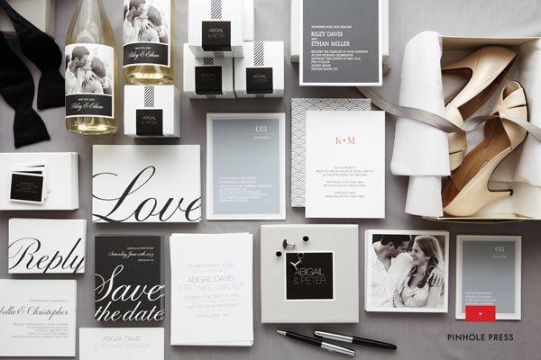 neutral wedding stationery // sp