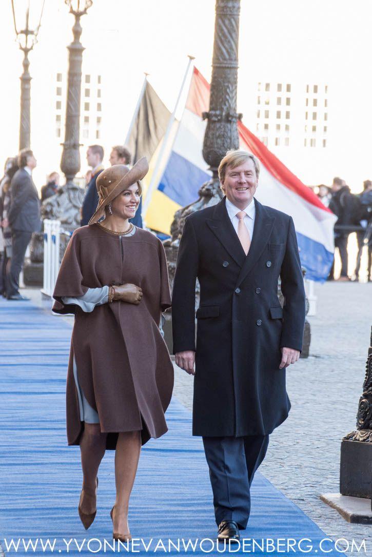 Staatsbezoek België aan Nederland - kleding koningin Máxima dag 1 | ModekoninginMaxima.nl