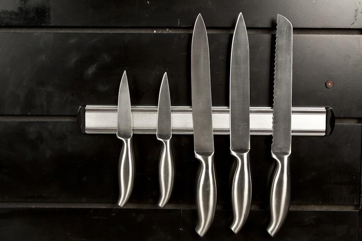 Esta idea es genial para tener siempre a mano tus cuchillos.