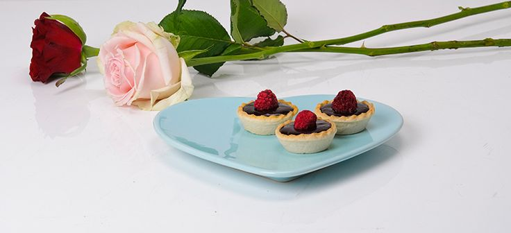 Valrhona Chocolate and Raspberry Cacao Tartlets