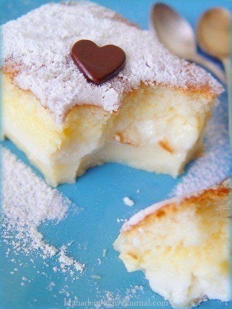 Умное пирожное - смешай все и отправь в духовку. Рецепт