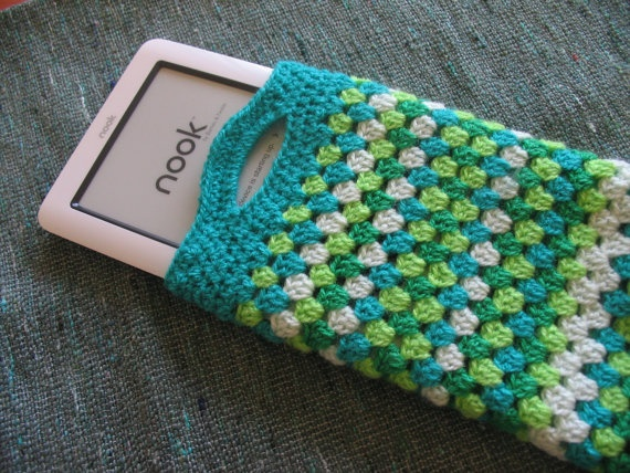 e-Reader case - Nook cover ( ebook). $18,00, via Etsy.