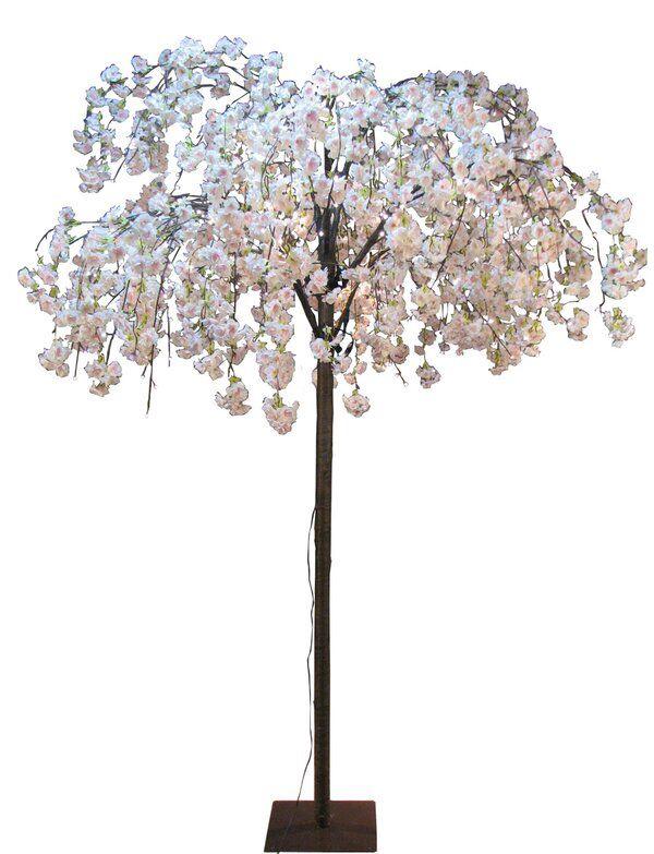 Cherry Blossom Tree 288 Light Lamp White Blossom Tree Cherry Blossom Wedding Decor Cherry Blossom Bedroom