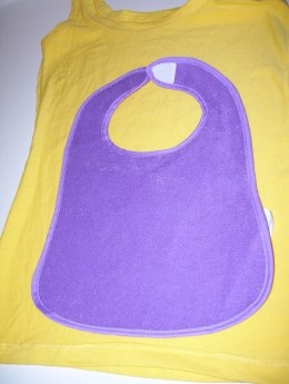 Crossover baby bib pattern - So Sew Easy