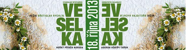 Národní divadlo Brno 2013/2014 - Veselka - autor Stanisław Wyspiański - režie Břetislav Rychlík - dramaturg Jan Gogola
