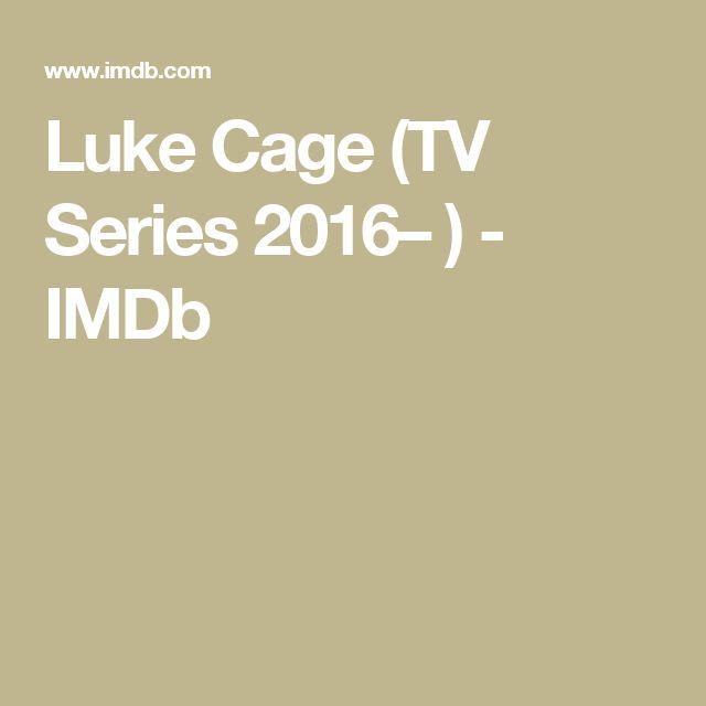 Luke Cage (TV Series 2016– ) - IMDb