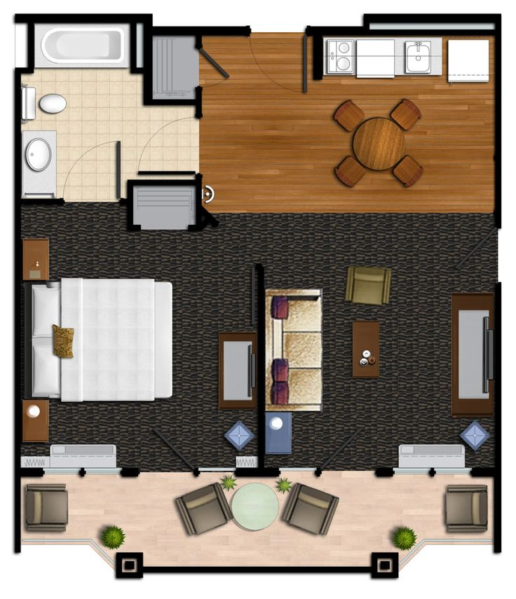 Hotel Floor Plan - Port of Kimberling Marina and Resort on Table Rock Lake