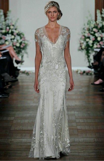 Jenny Packham Bridal Collection wedding dress, bridal inspiration, Vintage Wedding, Grey and Silver Wedding