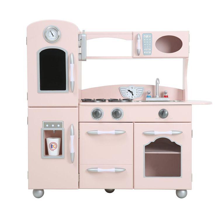 Teamson Kids Children Nursery Pink Play Kitchen (1 Piece)