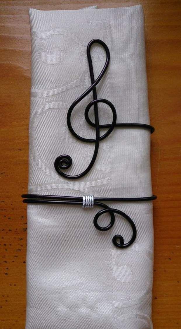 Rond de serviette : des idées pour ma table de mariage