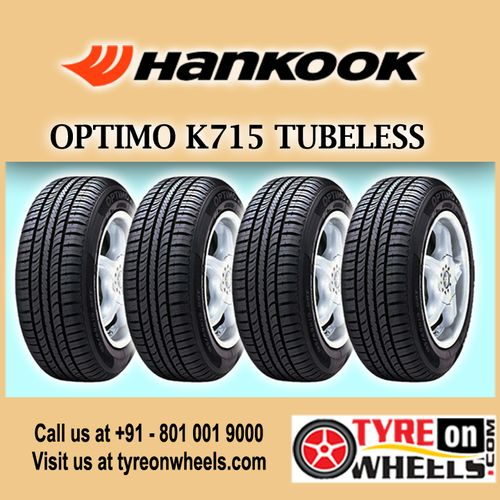 Buy Maruti A Star Tyres Online of Hankook Optimo K715 Tubeless Set of 4 Tyres for Size 155/80R 13 and get fitted with Mobile Tyre Fitting Vans at your doorstep at Guaranteed Low Prices buy now at http://www.tyreonwheels.com/tyres/Hankook/OPTIMO-K715/1435
