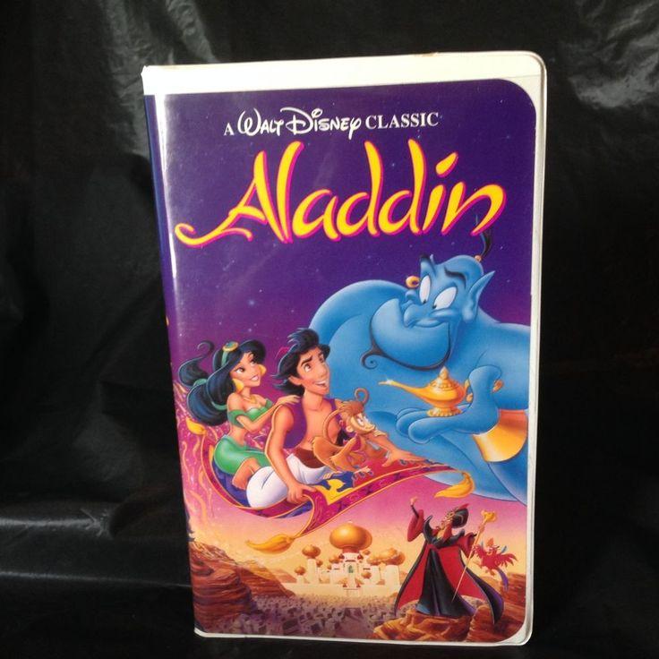 Aladdin (VHS, 1993) Disney Black Diamond Classics