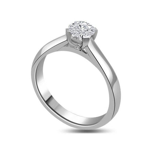 ANELLO DI FIDANZAMENTO SOLITARIO CON DIAMANTE 18CT ORO BIANCO | Solitario con diamante taglio brillante montato in 6 griffe. L`anello è disponibile in 18ct oro bianco, 18ct oro giallo e in platino. Il peso dei carati del diamante può variare da 0.20ct a 0.60ct ed il colore da F ad I e la purezza da VS1 ad SI1. L`anello è accompagnato dal certificato del diamante. Perfetto per fidanzamento, matrimonio o anniversario e come regalo nel giorno di San Valentino