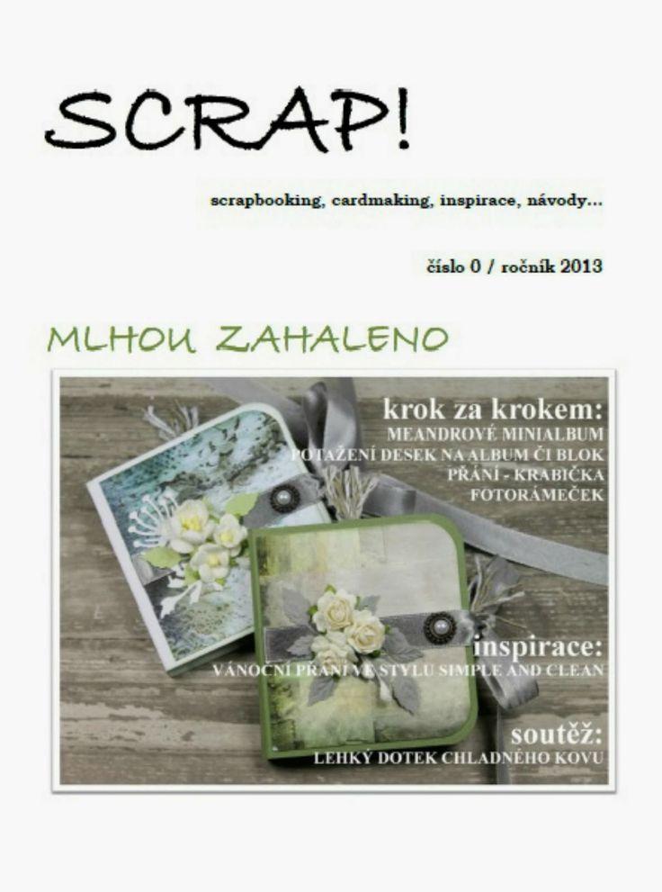 Nové číslo časopisu Scrap!