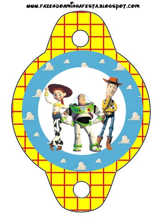 Toy Story Free Party Printables and Backgrounds.