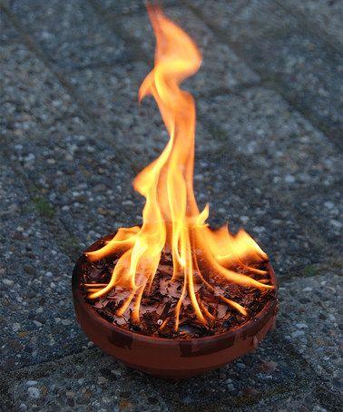 Look what I found on #zulily! Terra-Cotta Fire Pot by Esschert Design #zulilyfinds