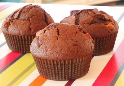 Radość gotowania: Muffiny z kawałkami czekolady