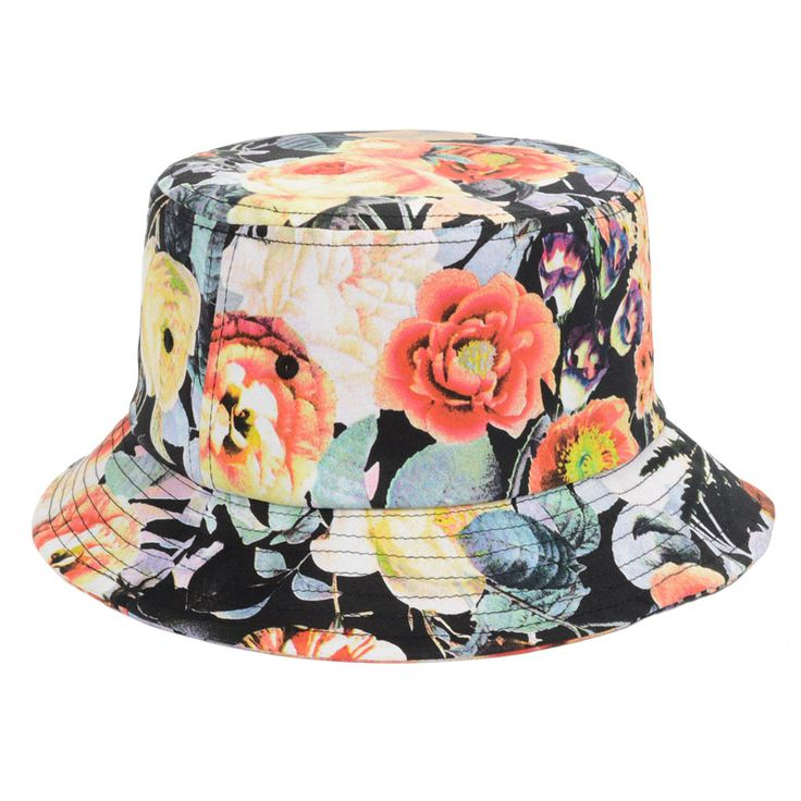 BLACK New Arrival Hot Sales White/Black Floral Bucket Hats For Women Cotton Print Fisherman Hat Fashion Bucket Caps Goldtop #flower #floral #buckethat #sunhat #beautiful http://www.aliexpress.com/store/product/New-Arrival-Hot-Sales-White-Black-Floral-Bucket-Hats-For-Women-Cotton-Print-Fisherman-Hat-Fashion/1201637_1950886779.html