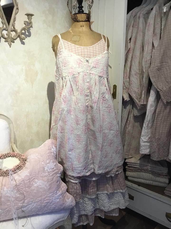fleur verte Kleid // Dress Yvette Leinen Les Ours