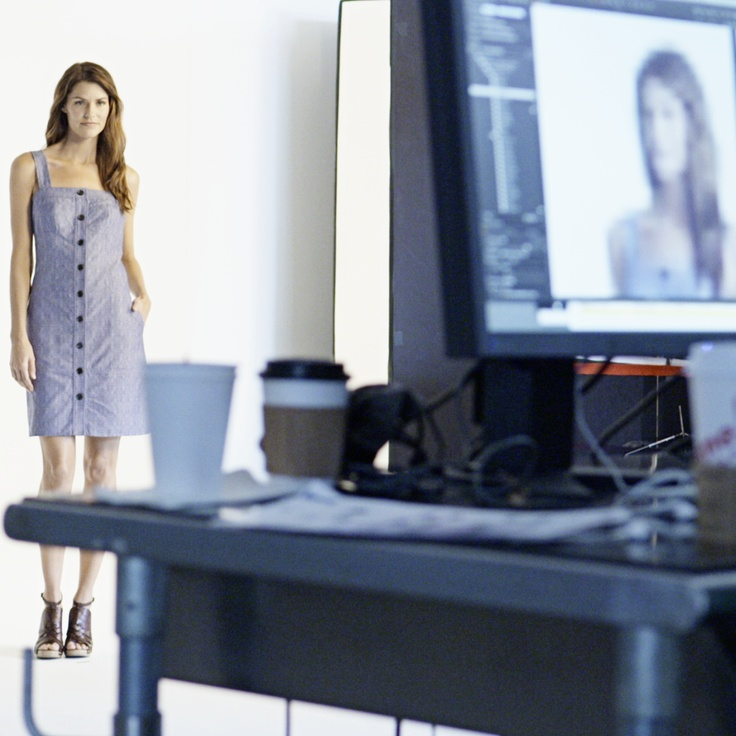 A peek behind the scenes of the #DerekLam #DesigNation photo shoot. #Kohls