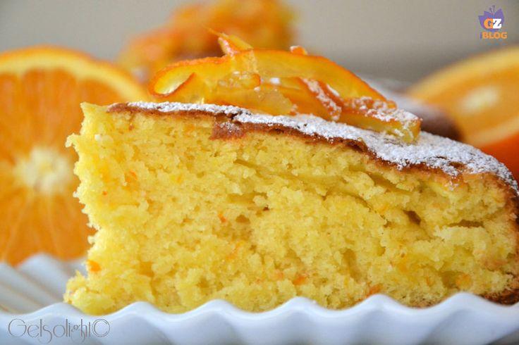 Torta pan d'arancio