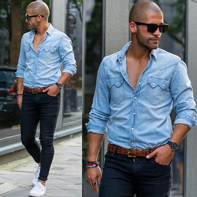 12 Best Bald Images On Pinterest Men 39 S Fashion Styles Casual Styles And Man Style