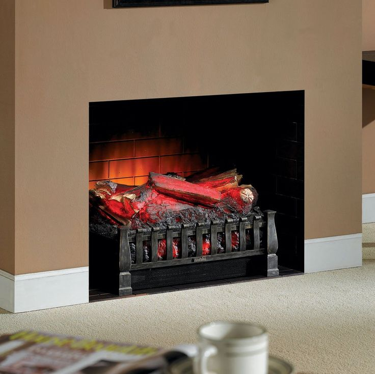 1000 Ideas About Electric Fireplace Logs On Pinterest Fireplace Logs Electric Fireplaces And