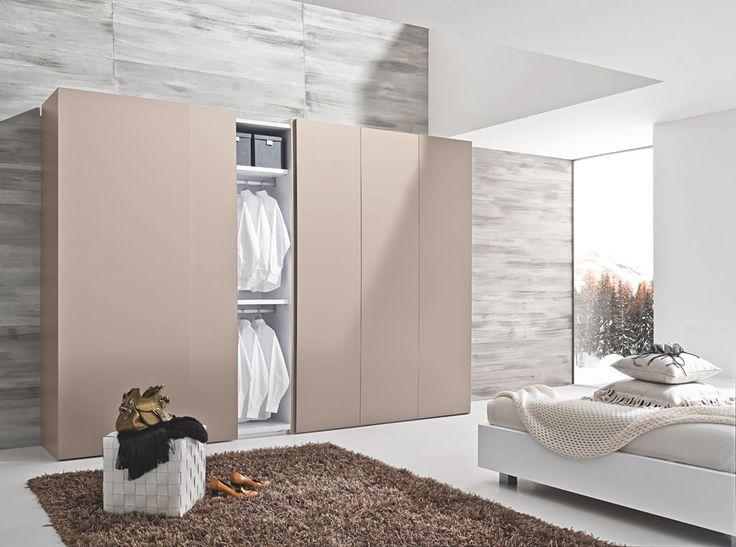 Bedroom Sliding Cabinet Designs With Wardrobes: Sleek Modern Sliding Door Wardrobe Designs For Bedroom