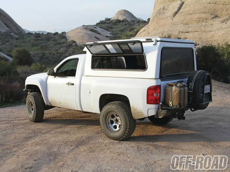 Silverado Flippac Camper 4wd Amp Off Highway Vehicles