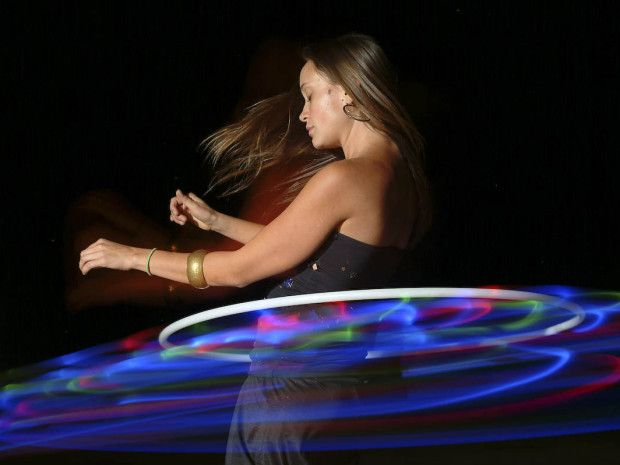How to Make a LED Hula Hoop, maybe someday I'll give it a whirl!
