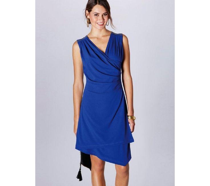 Asymetrické šaty s překřížením   vyprodej-slevy.cz #vyprodejslevy #vyprodejslecycz #vyprodejslevy_cz #dress