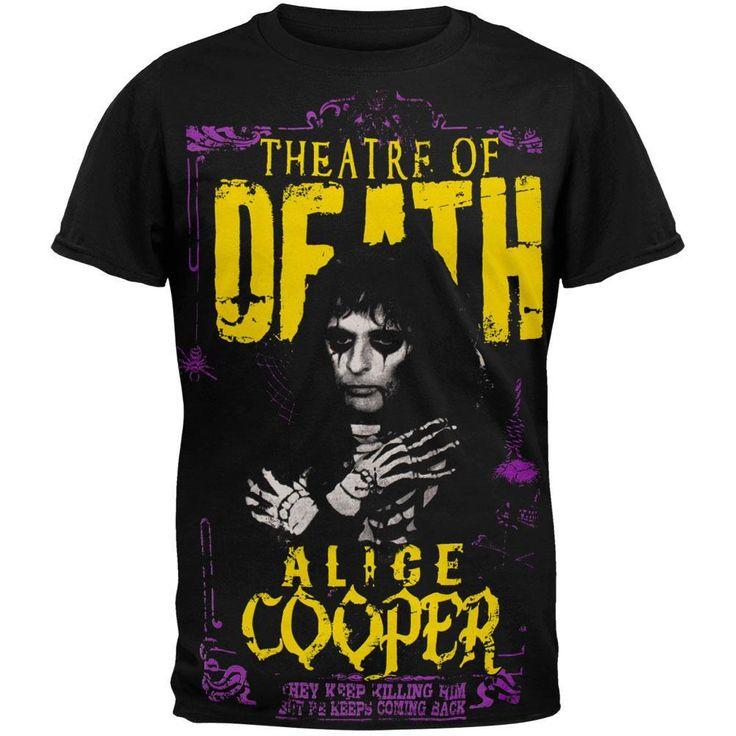 Alice Cooper - Theatre of Death Tour T-Shirt