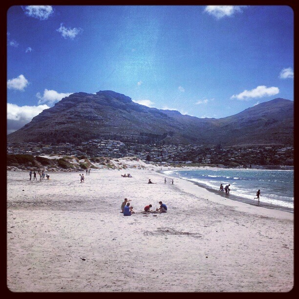Hout Bay Beach, Cape Town. by AfricanTours, via Flickr
