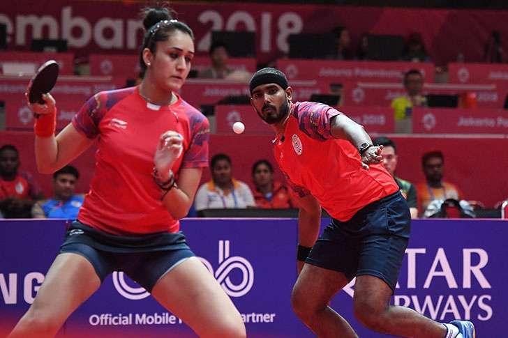 Asiad 2018 Kamal Manika Lose In Tt Singles Asian Games Achievement Career