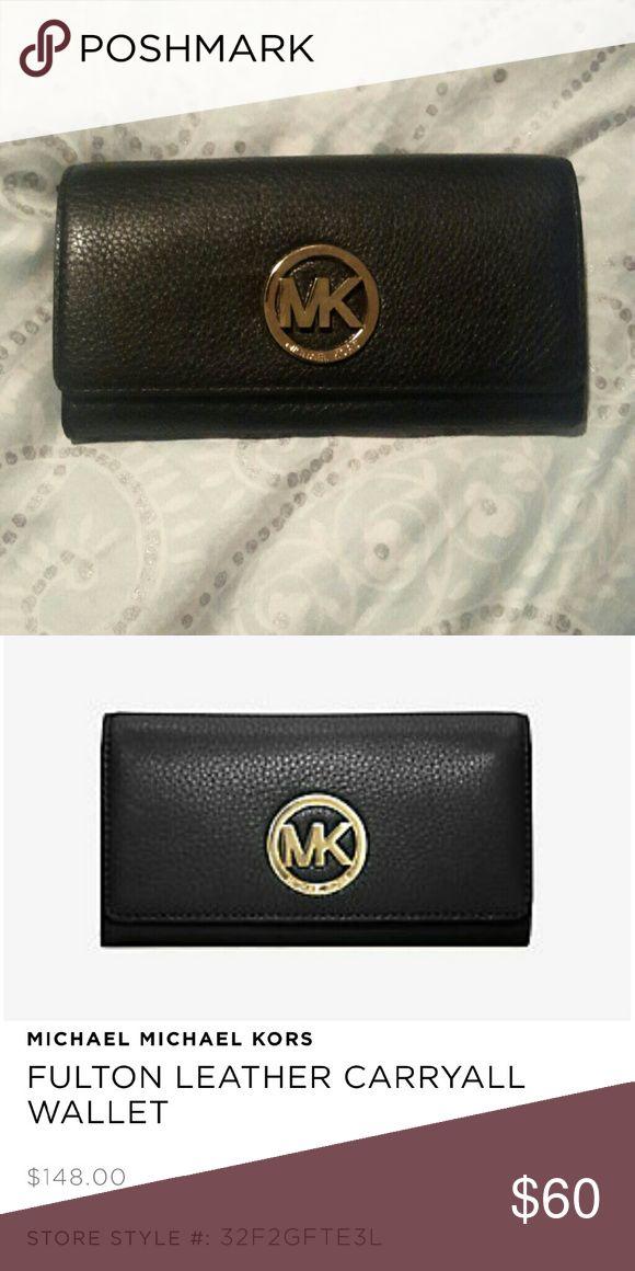 Michael Kors wallet Michael by Michael Kors Fulton carryall wallet MICHAEL Michael Kors Accessories Key & Card Holders