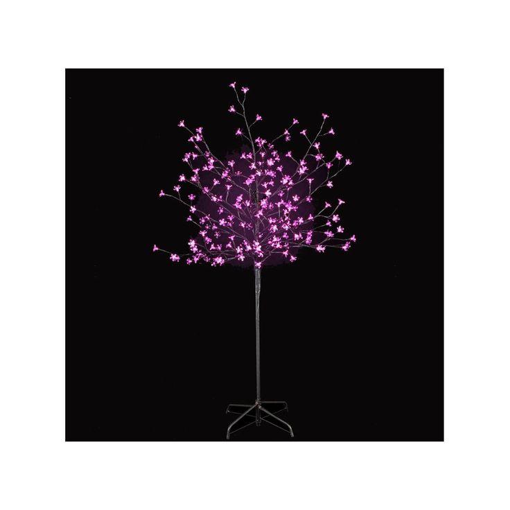 Arbre Lumineux Fleurs De Prunus 200 Leds Blanches Jardideco – Taille : Taille Unique
