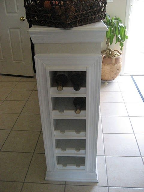 I NEED THIS... PRONTO! Wine Storage built in!