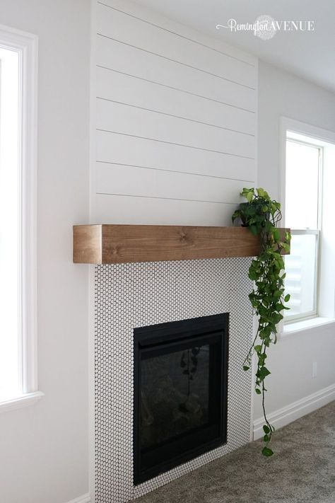 White Fireplace Mantel Decorating Ideas Interior Stone Shelf With Black Gl Fire Cover Under Rectangle Led Stacked Diy And Shelves On Brick Fireplaces