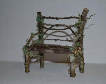 Pont de jardin féerique miniature mini terrarium par SnarlingBunny