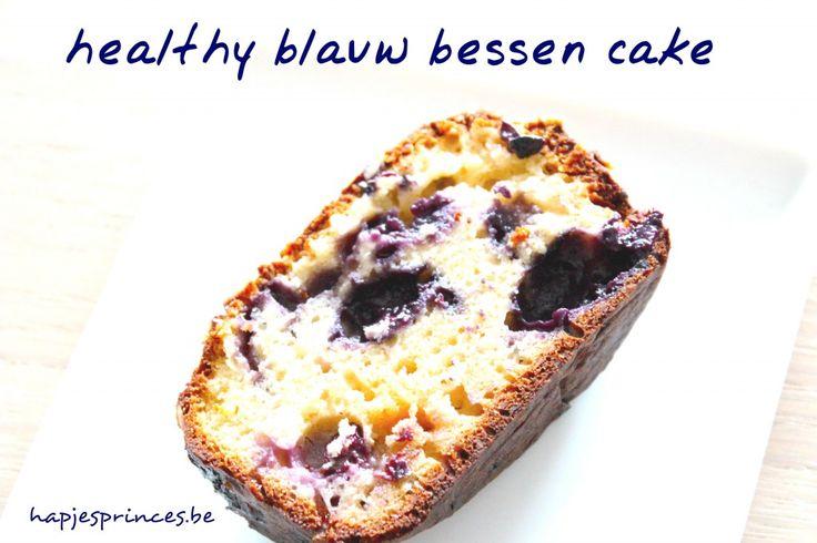 blauw bessen cake haelthy