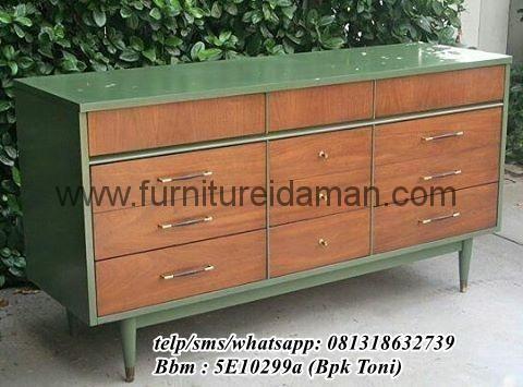 Nakas Minimalis Modern Cat Hijau-berikut kami tawarkan salah satu produk nakas terbaru furniture idaman dengan desain yang modern minimalis Cal 081318632739