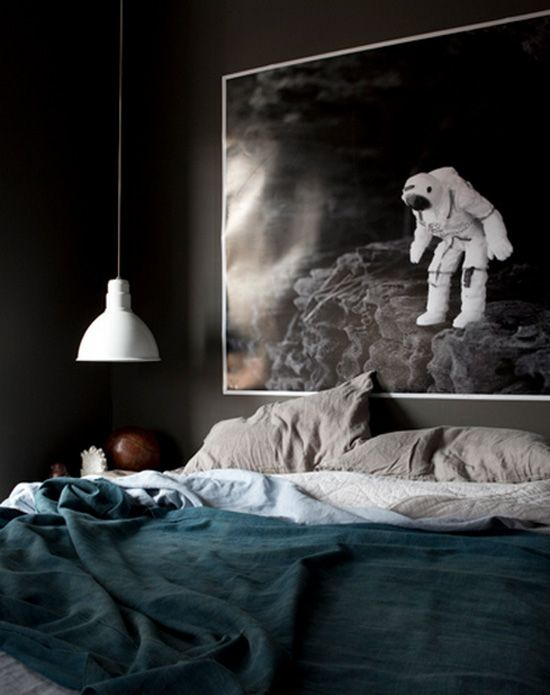 WANT THIS PAINTING .. and now I really wish I painted my room black instead of s... home interior painting