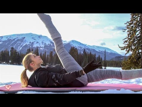 Challenge Your Waistline ♥ Abs & Core Strength Workout Plan - YouTube